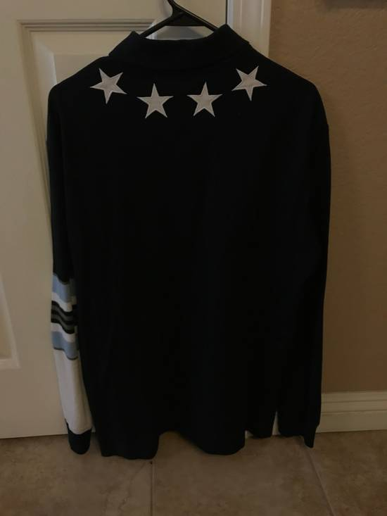 Givenchy Givenchy Star Striped Polo Size US L / EU 52-54 / 3 - 1