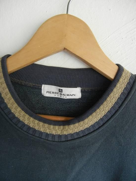 Balmain [NEED IT GONE BY TODAY] 90s Pierre Balmain Retro Green Sweatshirt Medium sz Size US M / EU 48-50 / 2 - 2