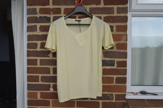 Balmain Yellow Distressed T-shirt Size US M / EU 48-50 / 2