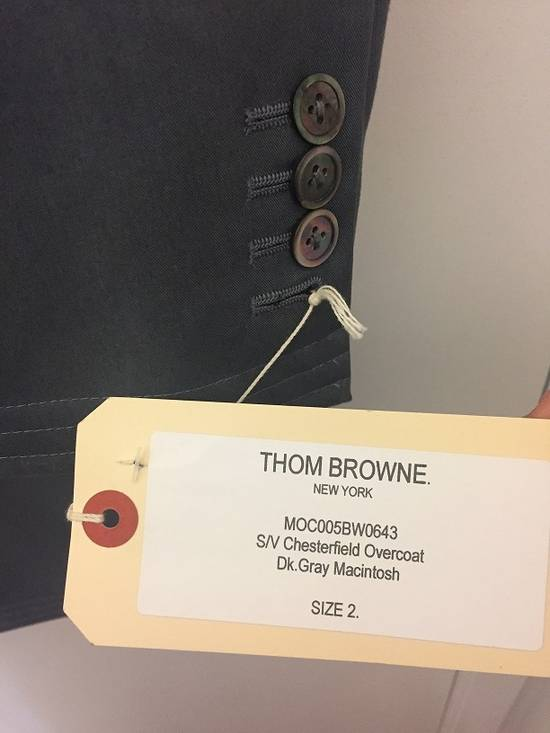 Thom Browne Chesterfield Overcoast Dark Gray Macintosh Size US M / EU 48-50 / 2 - 3