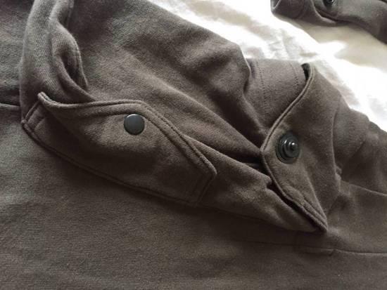 Julius Japan made long jersey oversize Popper fastening Gasmask pocket jacket Size US S / EU 44-46 / 1 - 5