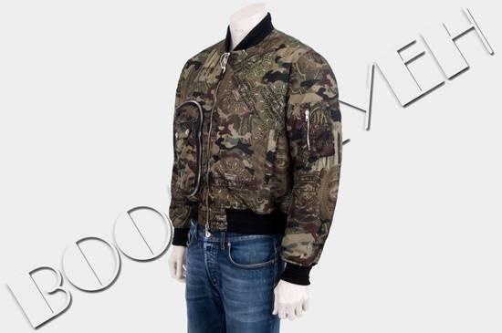 Givenchy 2995$ American Dollar Camouflage Bomber Jacket Size US S / EU 44-46 / 1 - 2