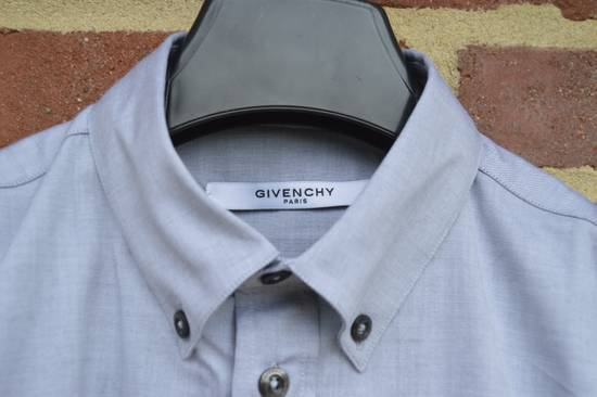 Givenchy Grey Embroidered Star Shirt Size US M / EU 48-50 / 2 - 4