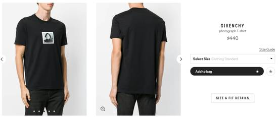 Givenchy photograph T-shirt Size US XS / EU 42 / 0 - 3