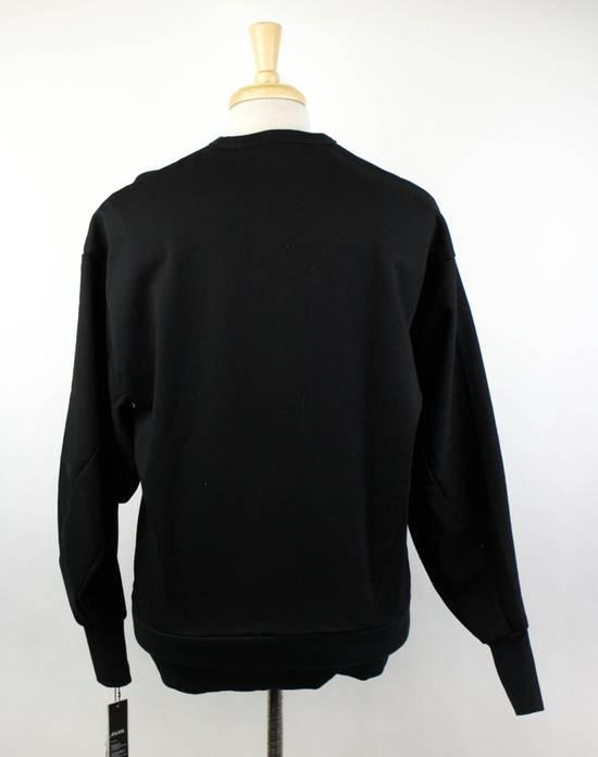 Julius 7 Men's Black Cotton '1984' Crewneck Sweater Size 3/M Size US M / EU 48-50 / 2 - 2