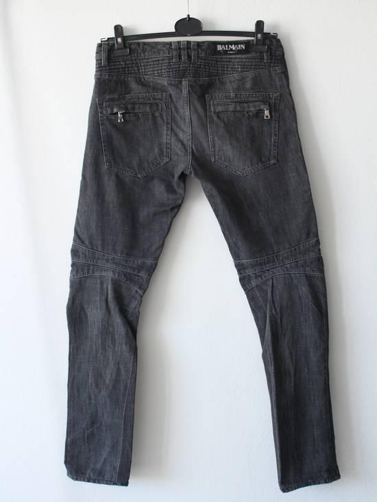 Balmain Skinny Knee Rips Biker Jeans Size US 30 / EU 46 - 4