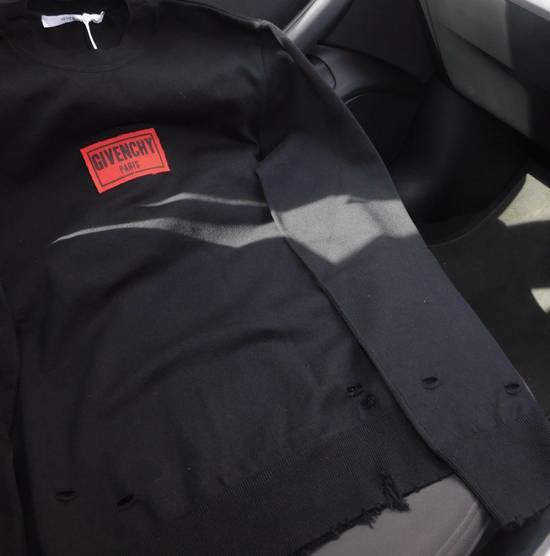 Givenchy New Season Givenchy Box Logo Sweater in Black 100% Authentic Under RRP Size US L / EU 52-54 / 3 - 1