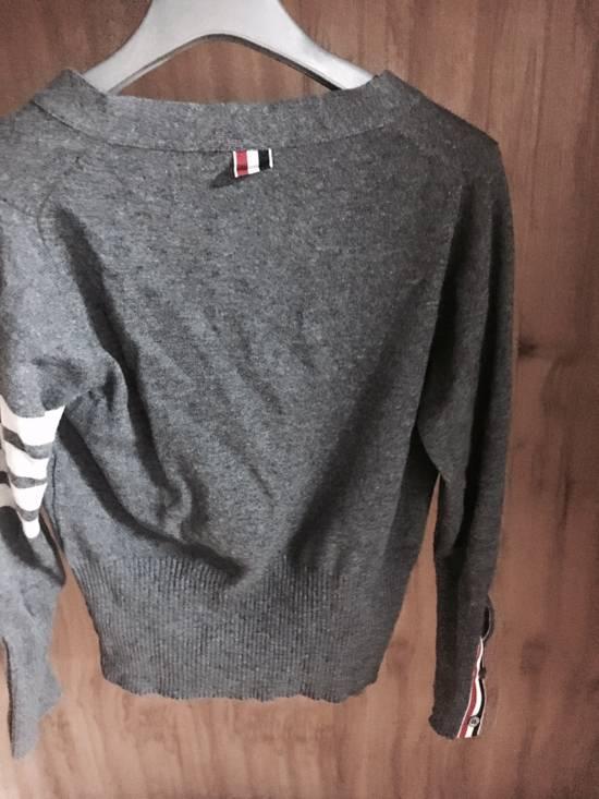 Thom Browne Thom Browne Cardigan Cashmere Grey Size US XS / EU 42 / 0 - 2