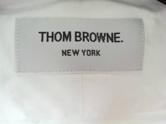 Thom Browne thom browne classic shirt with anchor embroidery sleeves Size US L / EU 52-54 / 3 - 3