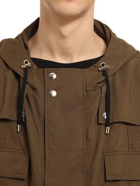 Balmain Balmain Multi Pocket Hooded Cotton Khaki Canvas Authentic $2730 Parka Size L New Size US L / EU 52-54 / 3 - 1