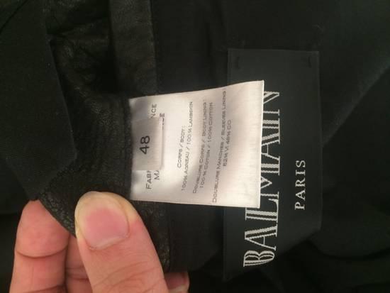 Balmain ss13 lamb leather biker jacket Size US M / EU 48-50 / 2 - 2