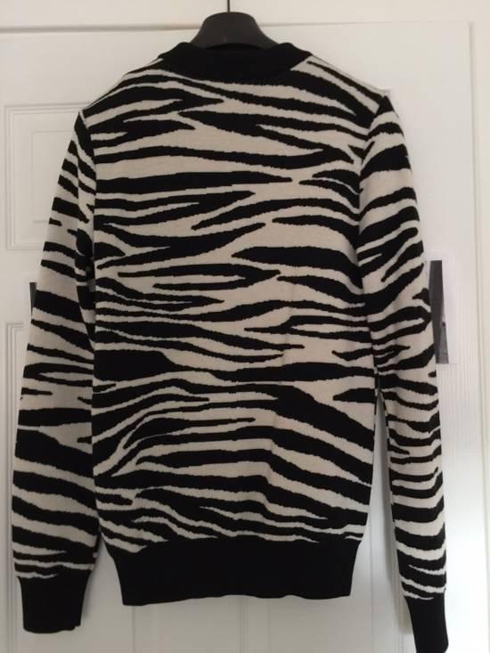 Balmain Balmain Zebra Strips Wool Sweater Size US S / EU 44-46 / 1 - 1