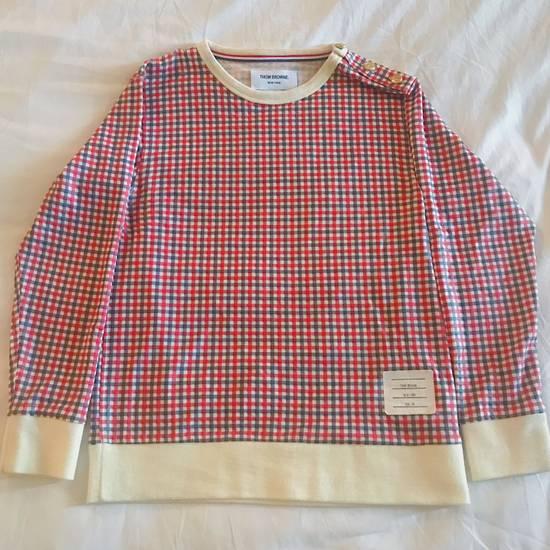 Thom Browne Thom Browne Crewneck Pullover Plaid Size US XXS / EU 40