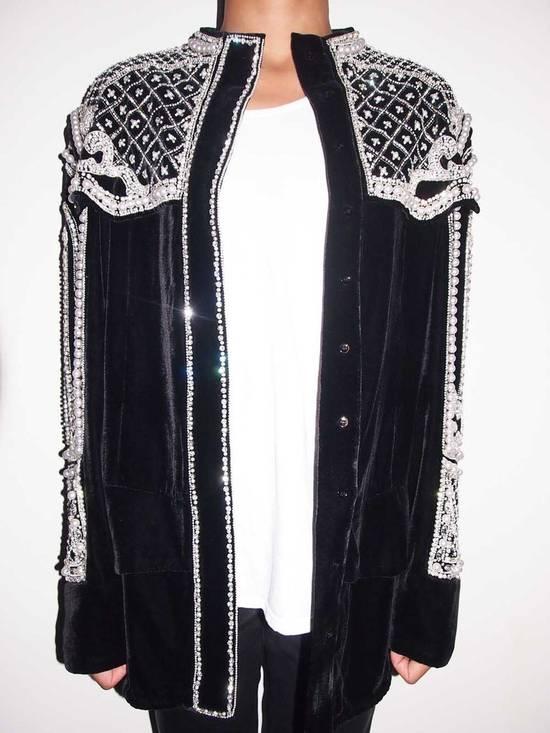 Balmain Balmain Fall 2012 Swarovski Crystal & Pearl Jacket Size US XL / EU 56 / 4 - 2