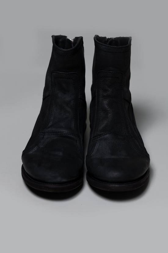 Julius SS12 [edge;] Cowhide Wedge-sole Back-zip Boots Size US 9 / EU 42 - 3