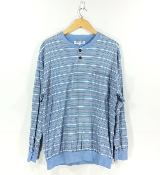 Balmain Vintage Balmain Paris Stripe Sweater Sport Streetwear 90s Sweatshirt Size US L / EU 52-54 / 3