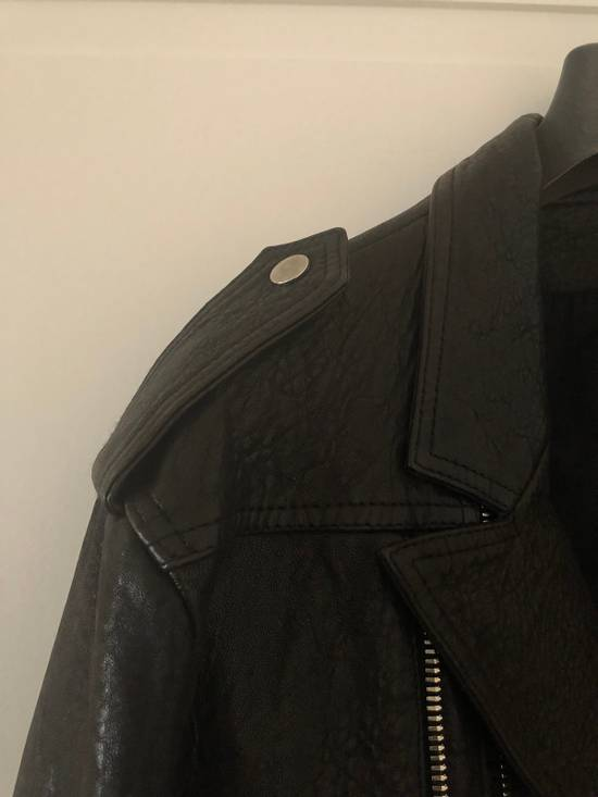 Balmain Leather Biker Jacket Size US L / EU 52-54 / 3 - 6
