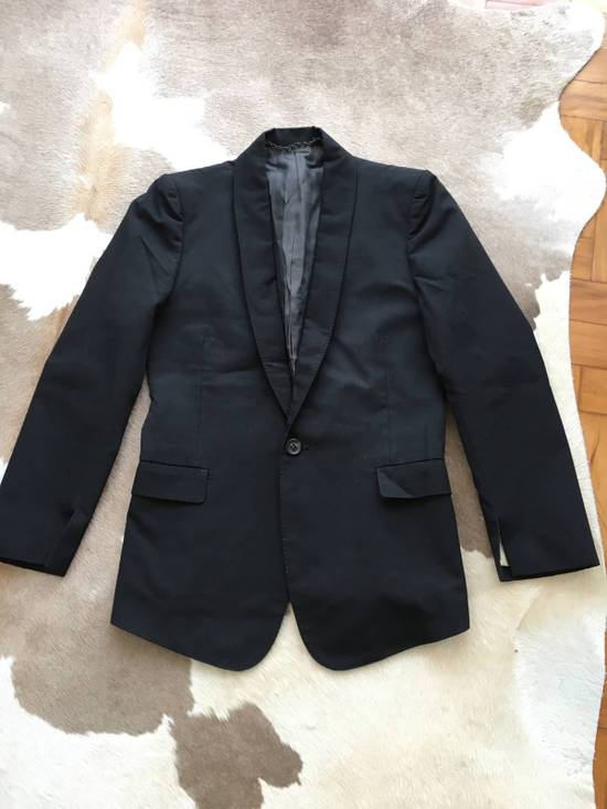 Julius Rare Japan made black fine wool tailored jacket in excellent condition Size 38R
