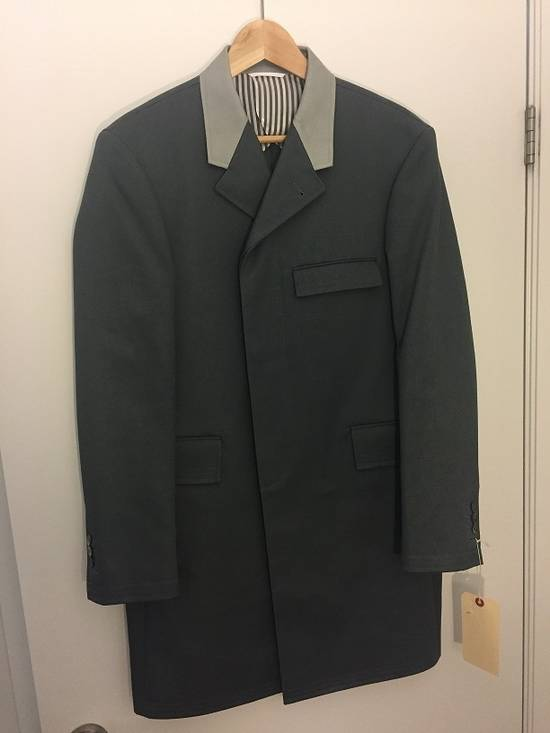 Thom Browne Chesterfield Overcoast Dark Gray Macintosh Size US M / EU 48-50 / 2