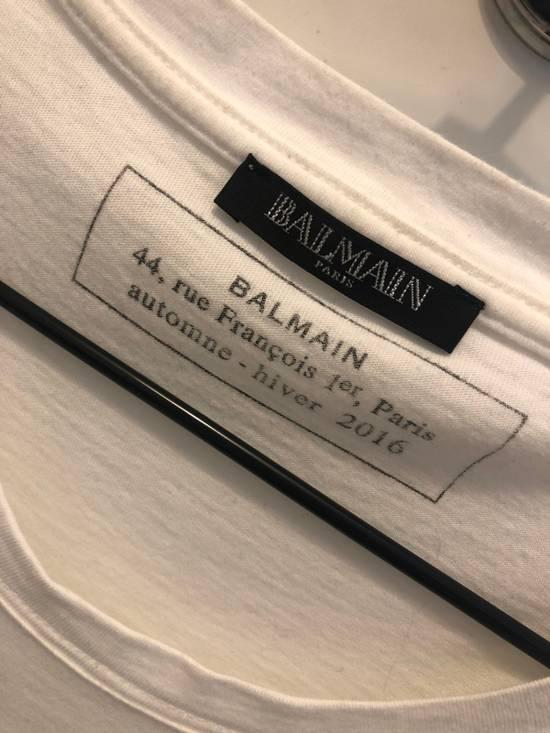 Balmain Black T-shirt Size US M / EU 48-50 / 2 - 1