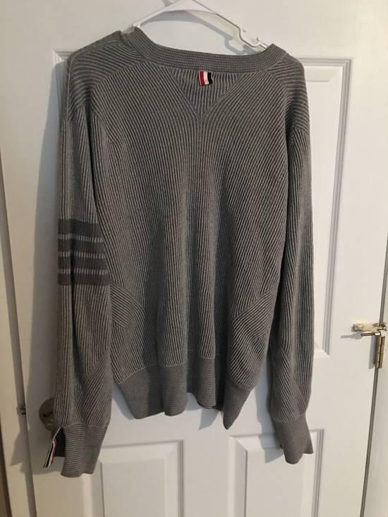 Thom Browne Thom Browne gray knitwear Size US L / EU 52-54 / 3 - 1