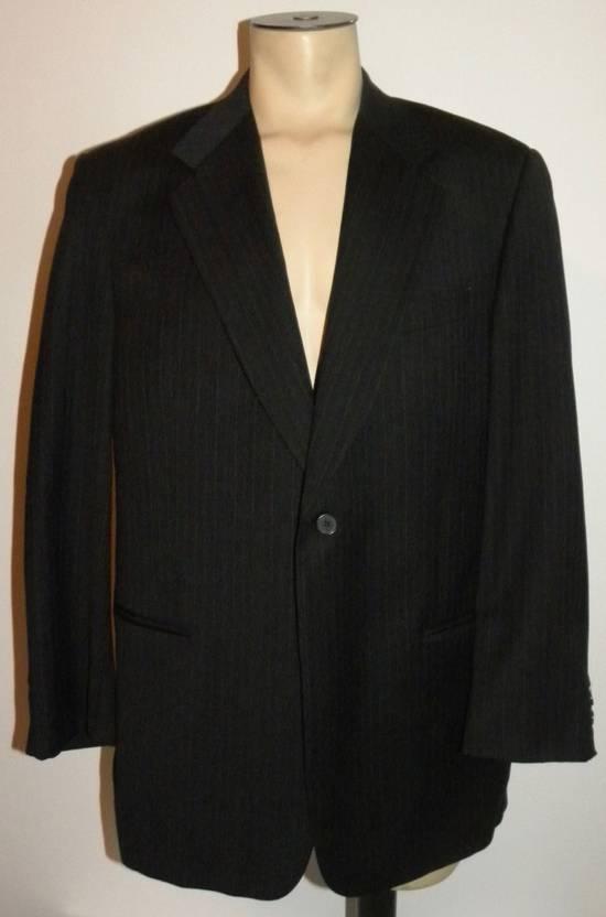 Givenchy Vintage Pin Striped Single Button Blazer Size 42R