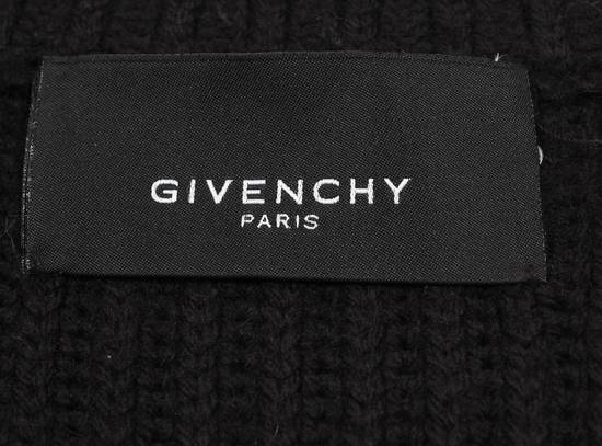 Givenchy Original Givenchy Full Zip Heavy Wool Black Men Biker Style Sweater in size L Size US L / EU 52-54 / 3 - 8