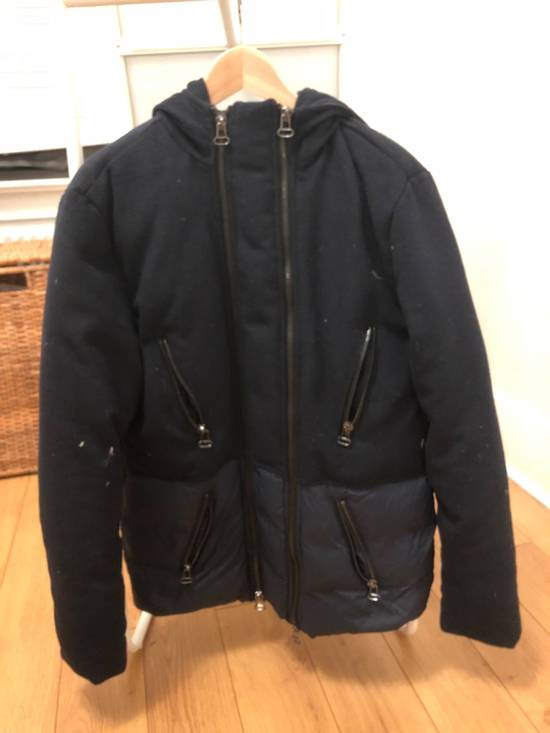 Balmain $1400 MEN PIERRE BALMAIN Winter Down Hooded Parka Jacket Coat IT50 /US40 / MED Size US M / EU 48-50 / 2