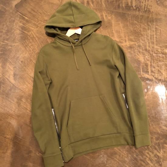 Balmain Balmain Side Zip Hoodie Olive Size US M / EU 48-50 / 2 - 1