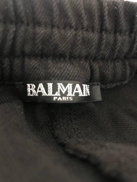 Balmain Waxed Biker Jeans Size US 32 / EU 48 - 4