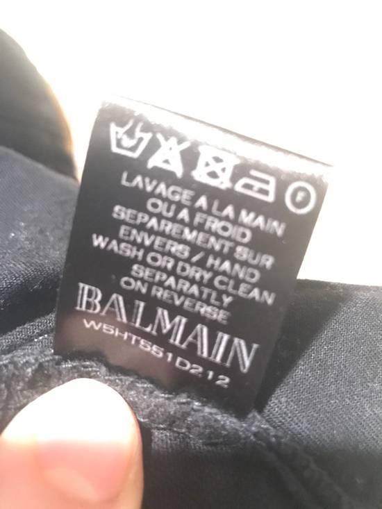 Balmain Black Moleskin Denim Size US 30 / EU 46 - 8