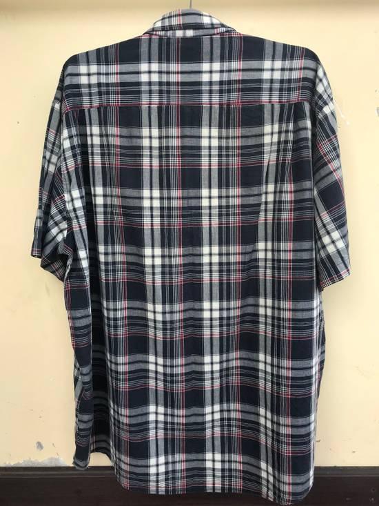 Balmain Balmain Short Sleeves Checked Shirt Size US XL / EU 56 / 4 - 3