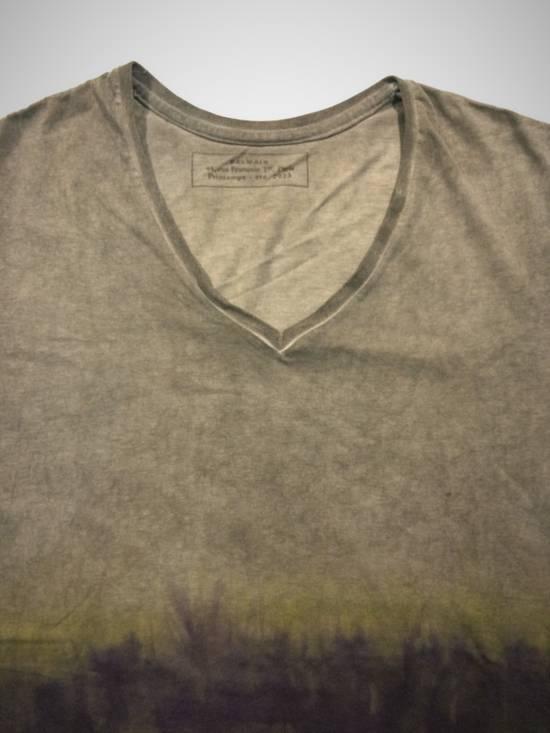 Balmain Auth. BALMAIN Paris Tie Dye Shirt SS 2013 Size US M / EU 48-50 / 2 - 3