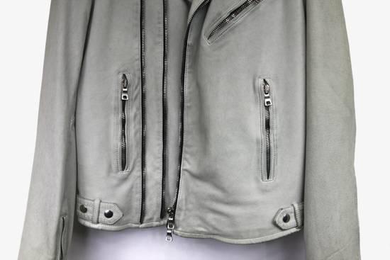 Balmain $4k Balmain White Leather Perfecto Biker Jacket 48 46 Size US M / EU 48-50 / 2 - 1