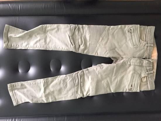 Balmain Balmain Grey Biker Jeans Size US 31 - 1