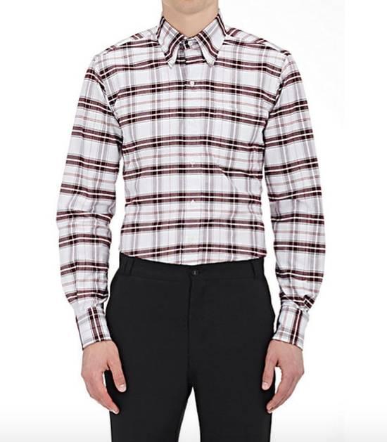 Thom Browne Plaid Oxford Cloth Shirt with Grosgrain Tab NEW Size US S / EU 44-46 / 1