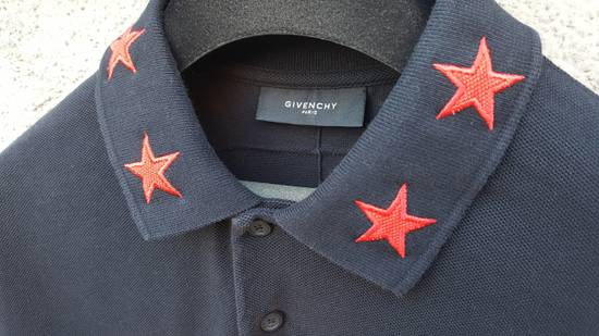 Givenchy Givenchy Striped Star Embroidered Rottweiler Oversized Polo Shirt size M (L / XL) Size US M / EU 48-50 / 2 - 10
