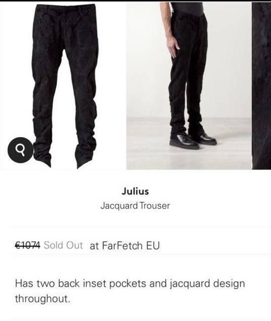 Julius Julius jacquard trousers Size US 34 / EU 50