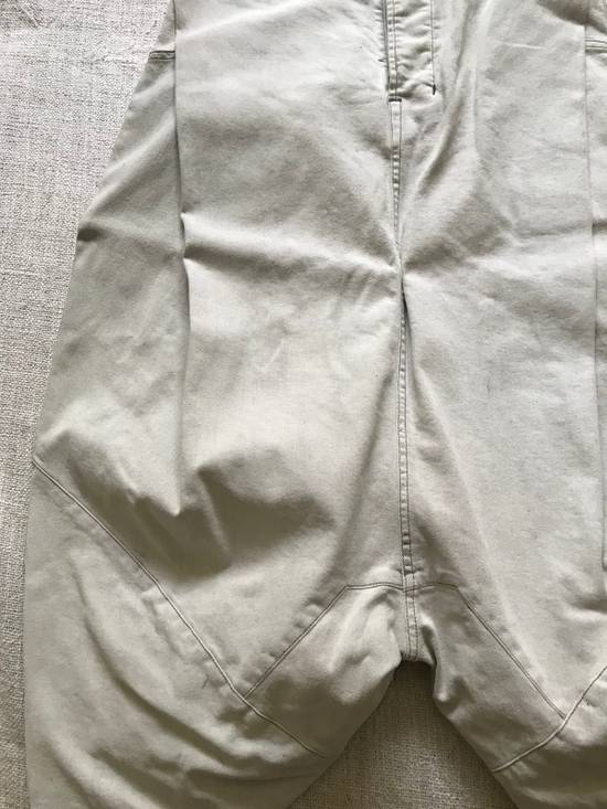 Julius AW14 painted low crotch denim cropped pants Size US 32 / EU 48 - 2