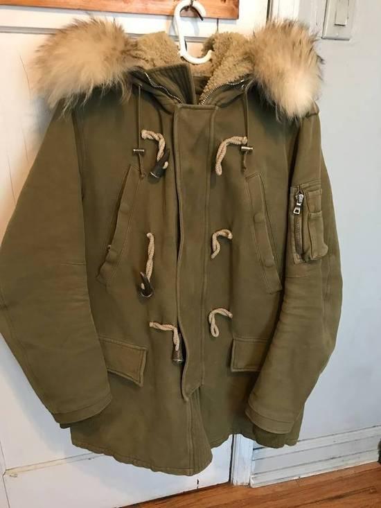 Balmain Fall 2011 Decarnin Fur Parka Size US L / EU 52-54 / 3 - 1
