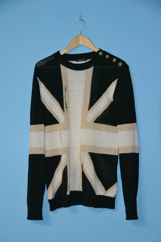 Balmain Balmain Union Jack Sweater Size US M / EU 48-50 / 2