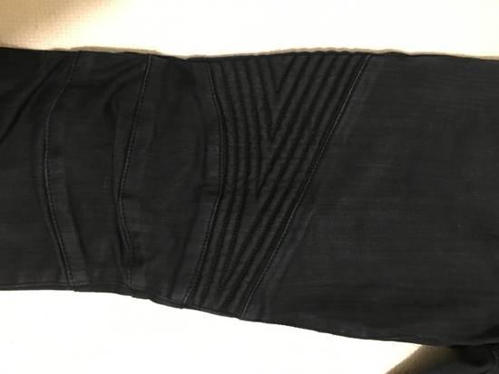 Balmain Navy Biker Jeans Size US 30 / EU 46 - 1