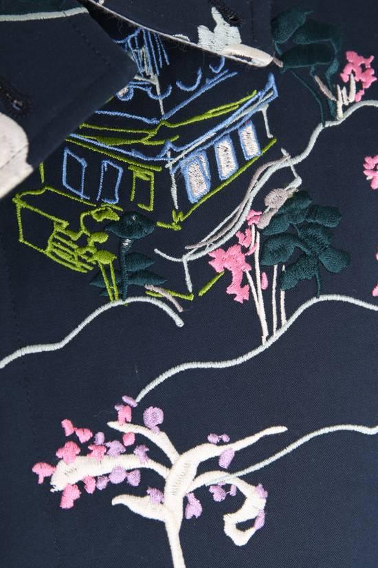 Thom Browne Japanese Garden Navy Coat Size US S / EU 44-46 / 1 - 9