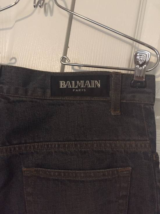 Balmain $1050 Decarnin Oil-wash Denim Size US 32 / EU 48 - 12