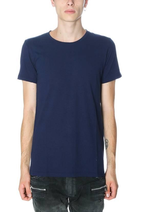 Balmain $650 Balmain Mens Medium (3)Three Pack Wool Teeshirts Blue/ Green/ Gray Italy Size US M / EU 48-50 / 2 - 4