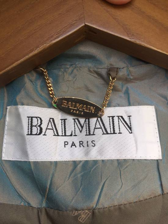 Balmain Rare!! Balmain Bomber Hooded with Detachable Hoodie Medium Size Size US M / EU 48-50 / 2 - 10