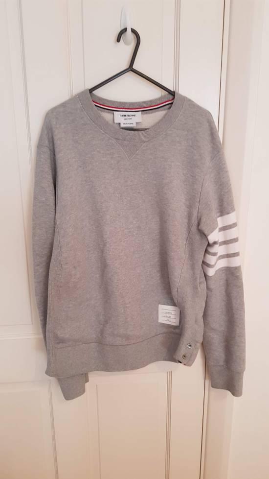 Thom Browne cosgrain loopback cotton sweater Size US M / EU 48-50 / 2 - 2