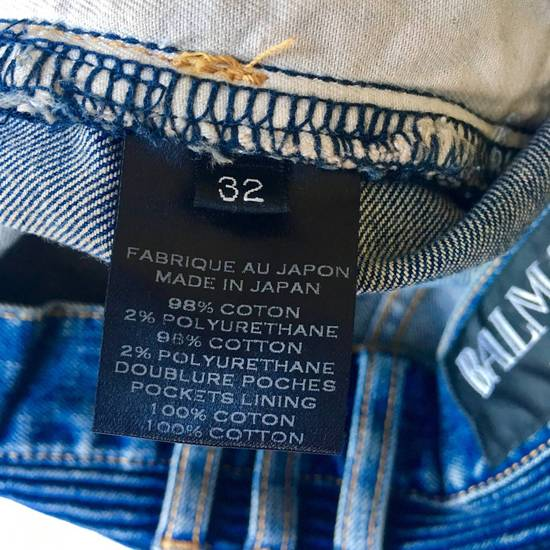 Balmain Rare SS 15 Balmian Biker jeans Size US 32 / EU 48 - 3