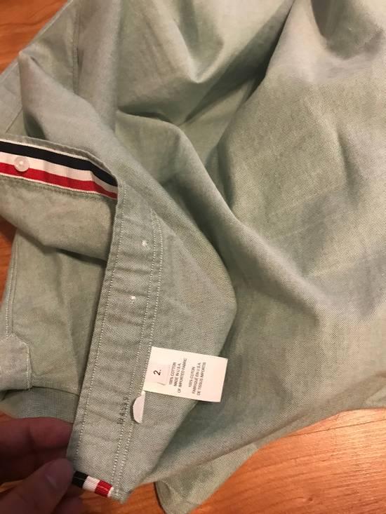 Thom Browne Classic Light Green Long Sleeves Size US M / EU 48-50 / 2 - 3