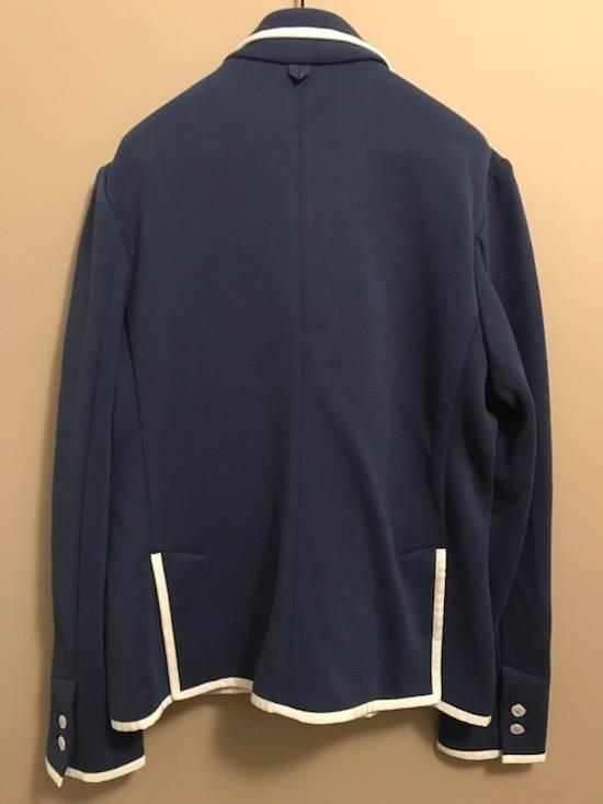 Thom Browne Bright Blue Knit Blazer Size 44R - 5